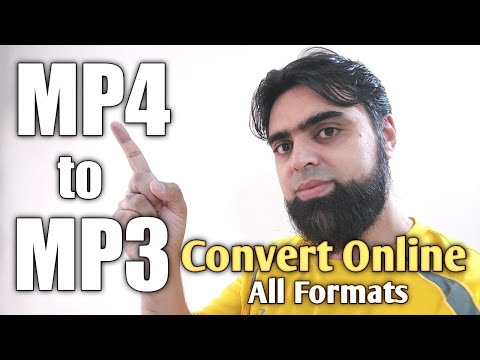 How to Convert MP4 to MP3 files   How to Convert MP3 to MP4   Online Easy Way