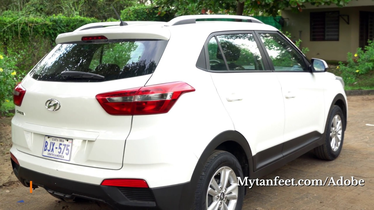 hyundai creta mid size suv - costa rica car rental