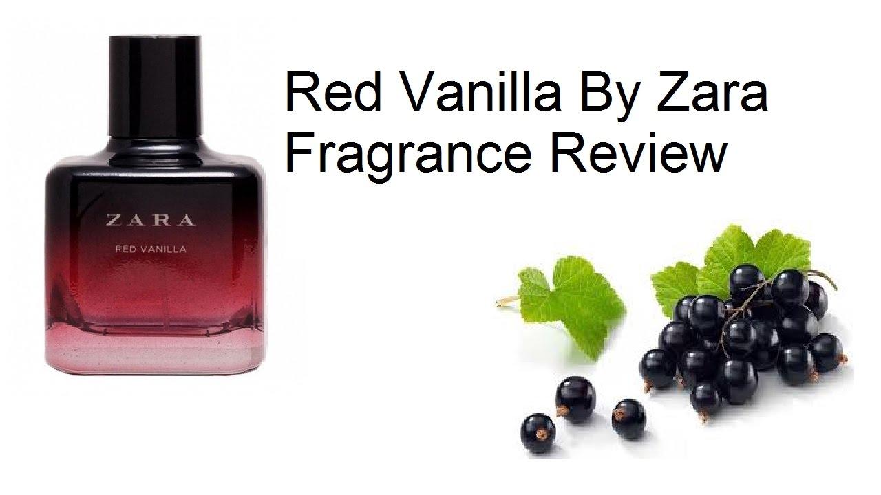 Zara Red Vanilla Fragrance Review Youtube