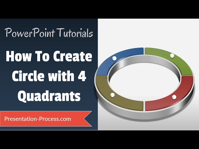 How to create 4 quadrant circle powerpoint diagram tutorial series how to create 4 quadrant circle powerpoint diagram tutorial series clipzui ccuart Gallery