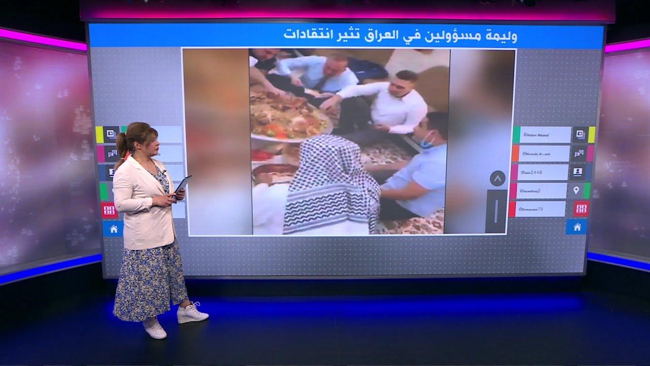 غداء عمل على الطريقة العراقية يفتح شهية الانتقادات لمحافظ البصرة