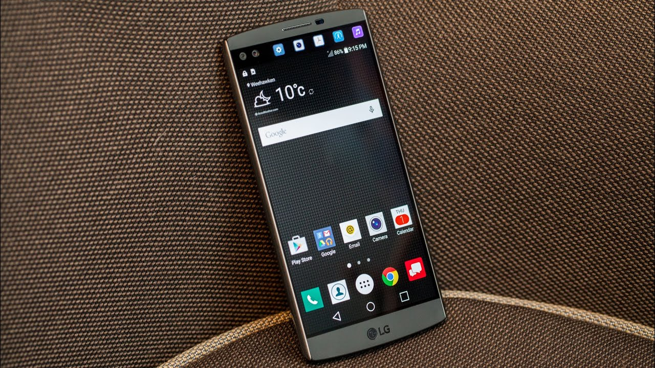 LG V10 hands-on - YouTube