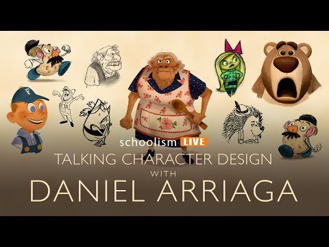 Talking character design with Daniel Arriaga