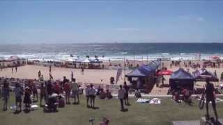 Australian Beach Soccer Cup, North Wollongong Beach, N.S.W., Australia. 8th Dec 2013.