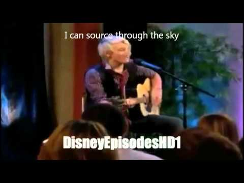 I'm A Little Butterfly-Austin and Ally-Ross Lynch_Episode 5 Blogger and Butterflies(Butterfly Song)