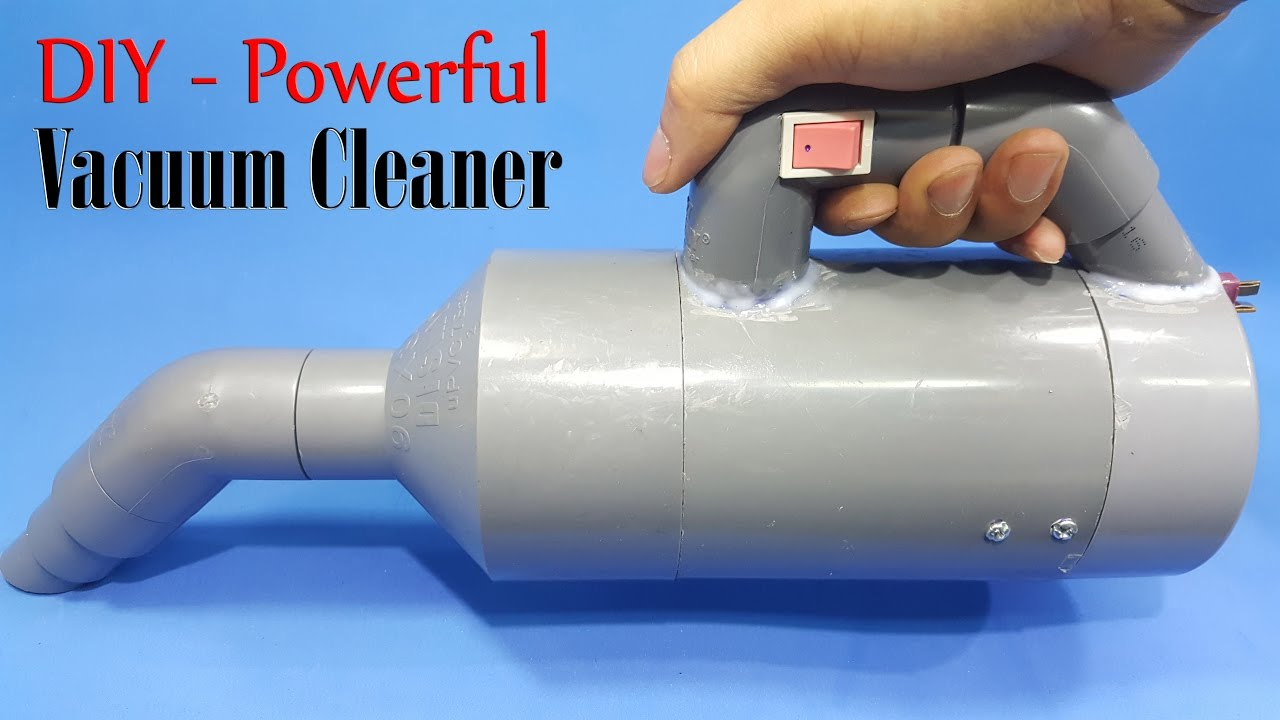 how to make a powerful vacuum cleaner using 775 motor and pvc pipe youtube. Black Bedroom Furniture Sets. Home Design Ideas