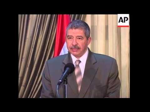 Iraqi prime minister announces crackdown in Mosul