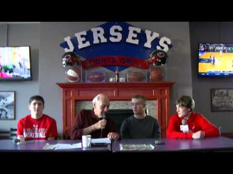 Jerseys Sports Grill Show with The CHS Boys Basketball Team