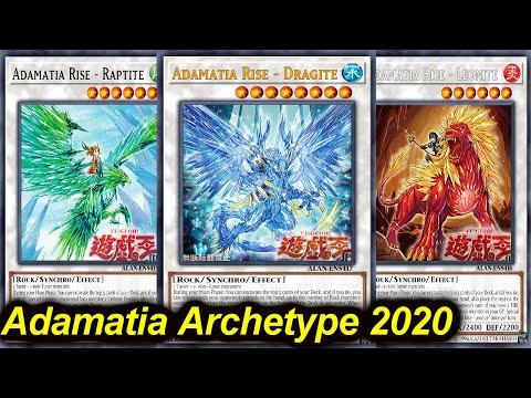 【YGOPRO】ADAMANCIPATOR NEW ARCHETYPE DECK 2020 (MR5) - Adamatia