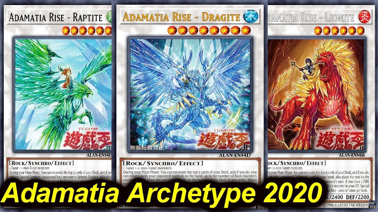 Ygopro Adamancipator New Archetype Deck 2020 Mr5 Adamatia