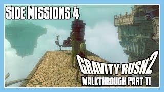 Gravity Rush 2 Walkthrough Part 11 - Side Missions 4