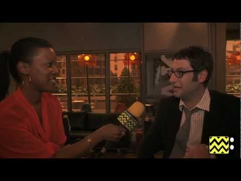 AfterBuzz TV Interviews Adam Busch @ Men At Work - YouTube