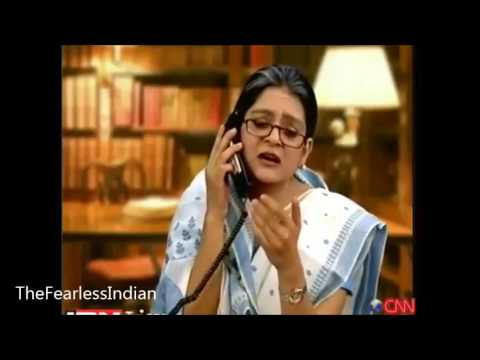 Sonia Gandhi - Manmohan Singh Secret Phone Talk   (Must Watch)
