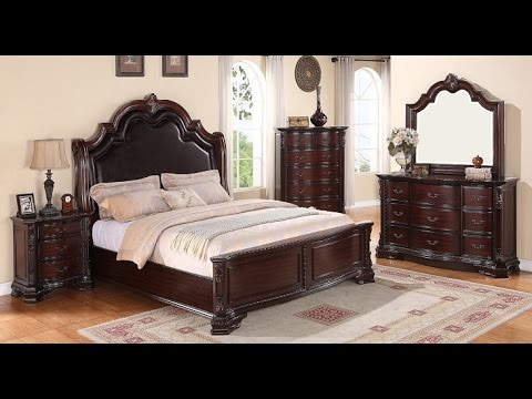 sheffield collection b1100 by crown mark furniture youtube. Black Bedroom Furniture Sets. Home Design Ideas