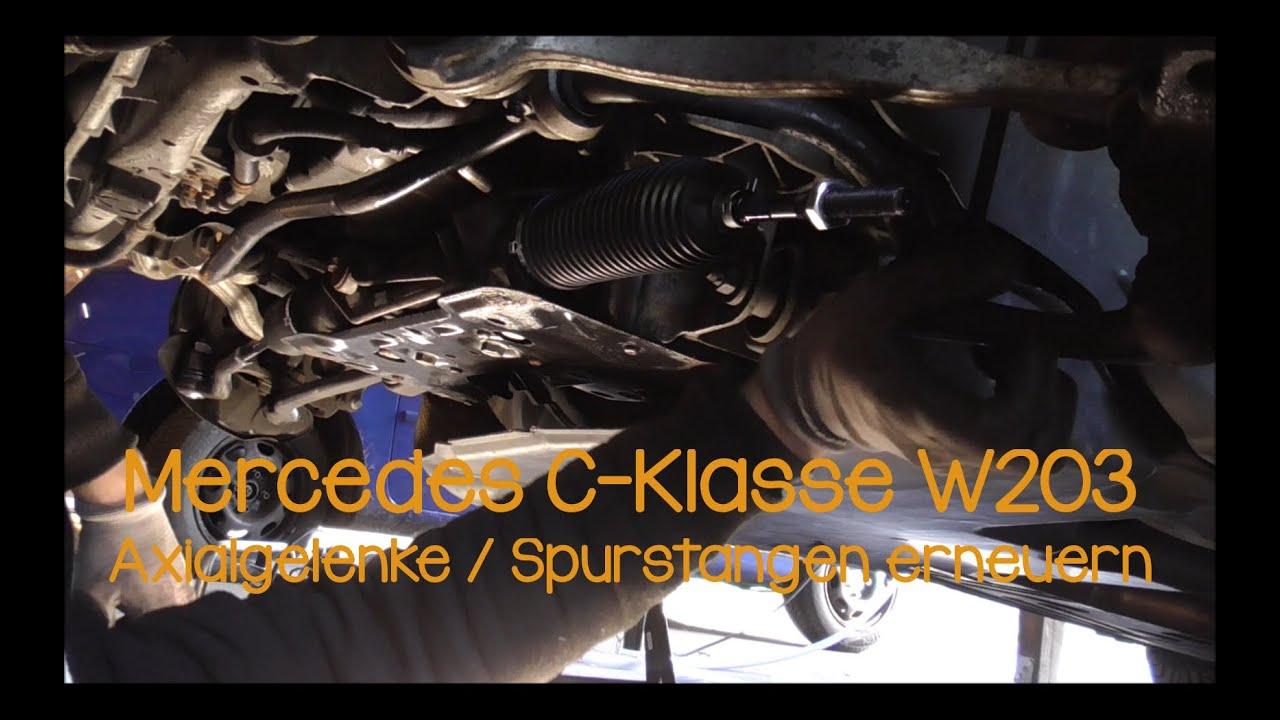 SPURSTANGENKOPF MERCEDES C-KLASSE W203 VORNE VORDERACHSE  LINKS