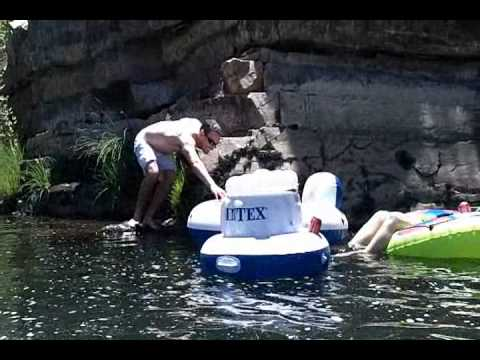 Inner Tubing Fun down the Kern River