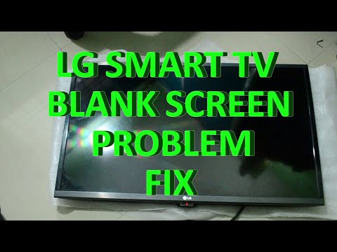 how to fix lg led tv has sound but no picture