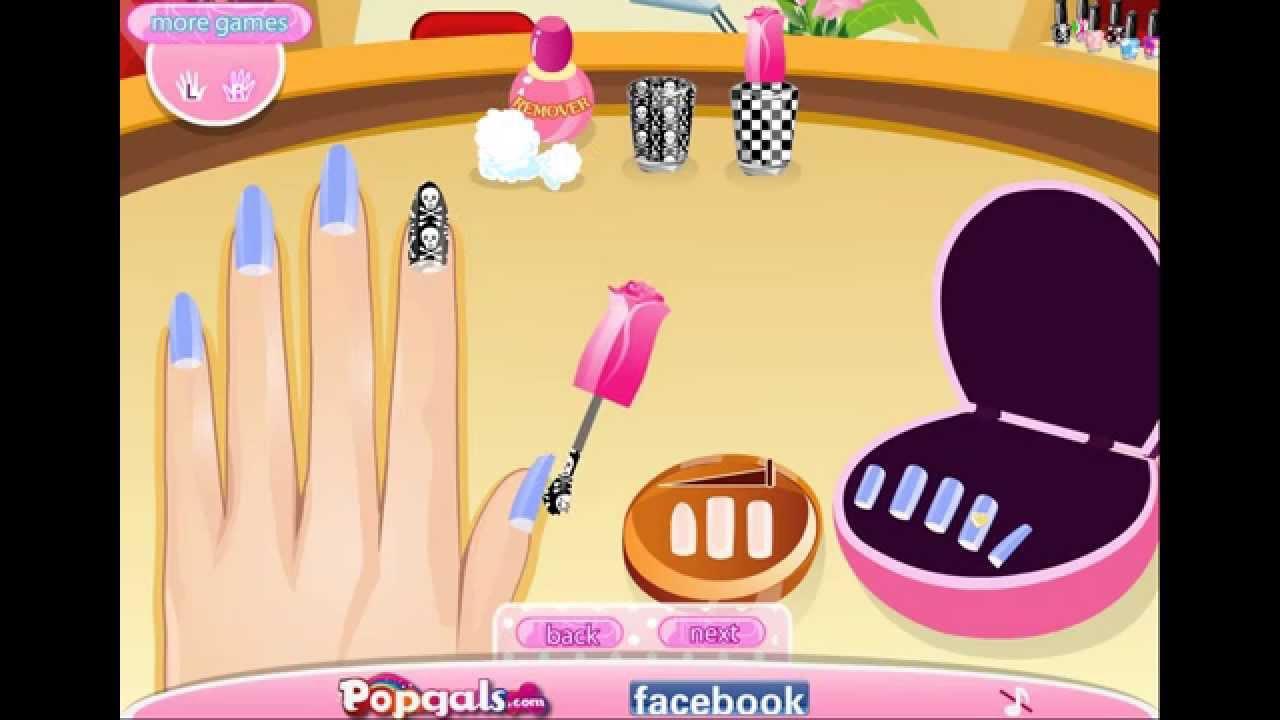 Be Fashionable Nail Designer Girls Game 2015 Youtube
