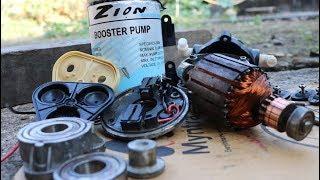 Reverse osmosis booster pump repair at home .