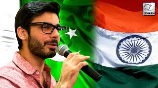 Fawad Khan FINALLY Breaks His SILENCE On India-Pakistan! | LehrenTV