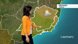 Previsão Sudeste – Risco de chuva forte entre MG e RJ