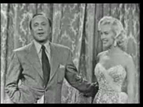 Marilyn Monroe On The Jack Benny Television  1953full episode