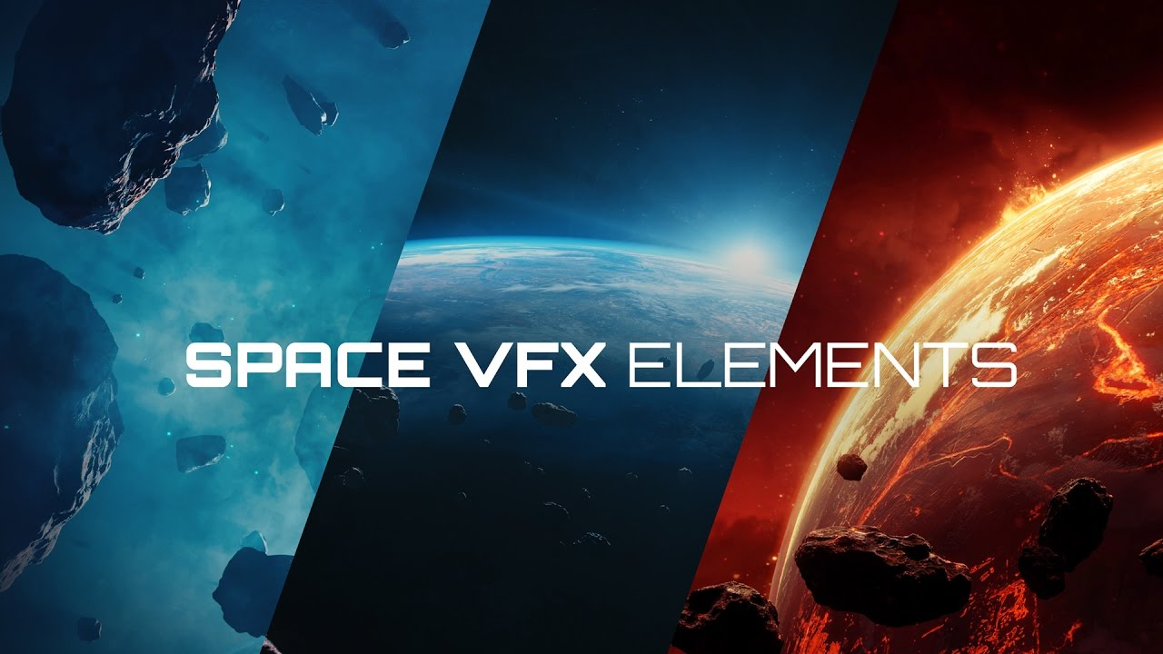 Space VFX Elements - Creating the Galaxy in Blender