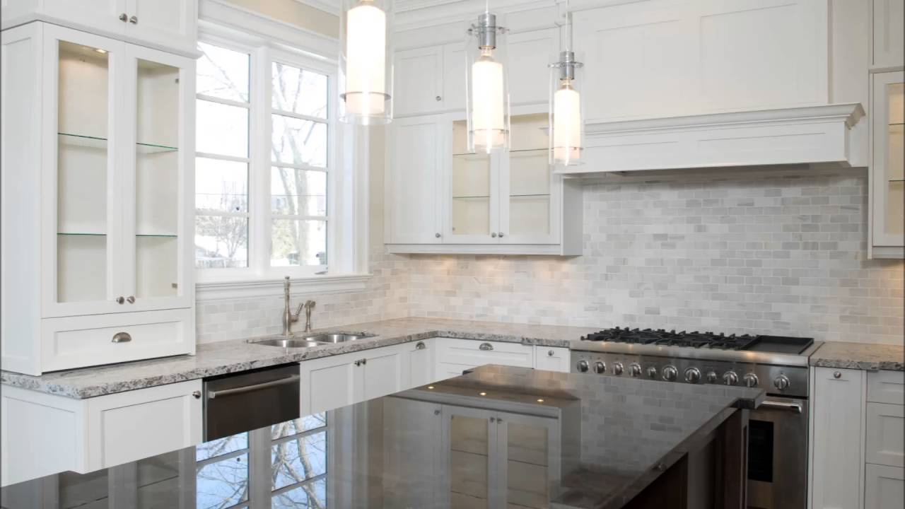 White Kitchen Herringbone Backsplash houzz white herringbone backsplash pendant lights wood island