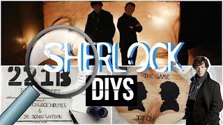 Sherlock Inspired DIYs   DIYs for Sherlock Fans