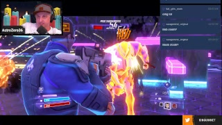 Join Astro and his trio of personalities in the super action game: Agents of Mayhem
