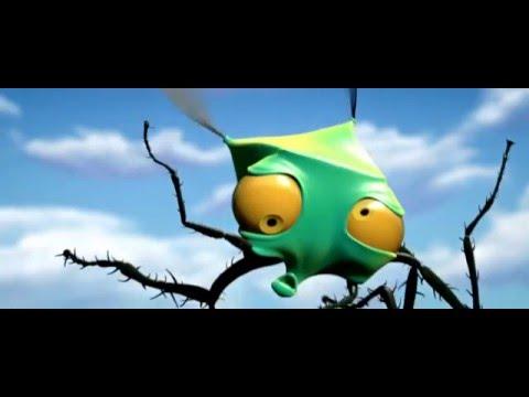 Очень смешной Мультик про насекомых 2016!