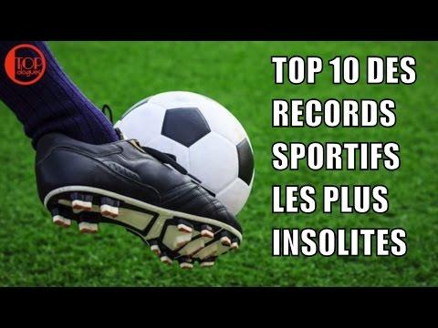 TOP 10 DES RECORDS SPORTIFS LES PLUS INSOLITES AU MONDE
