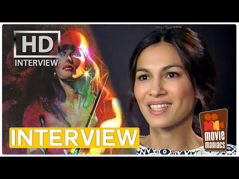 Elektra - Elodie Yung - Daredevil Season 2 exclusive interview (2016)