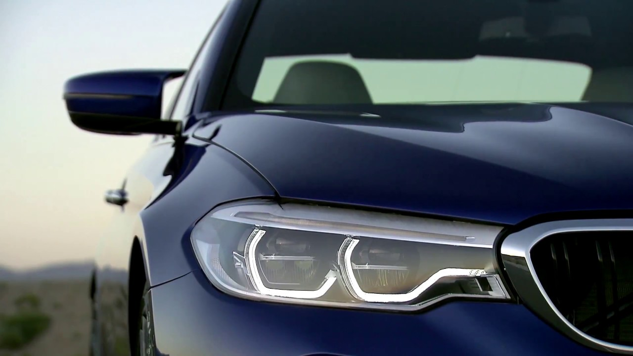 BMW 5 Series: Adaptive light control