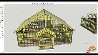 Мой дом в Скейтч Ап (Sketch Up)