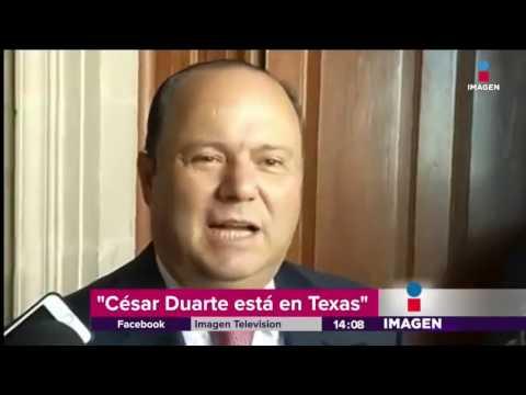 César Duarte quiere hacer negocios en Texas