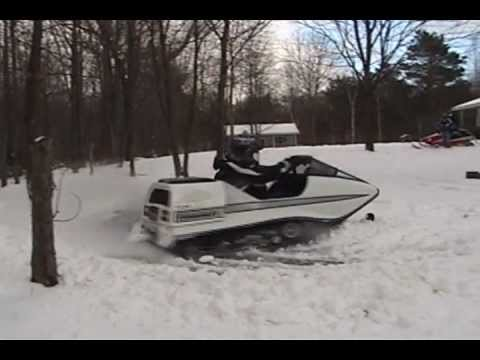 Joy Ridin With The Raider Vintage Snowmobile Youtube