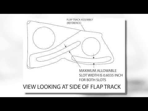 Single Engine Recip Flap Track Wear