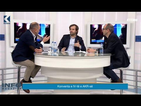 Info Magazine –Ilir Mirena dhe Dardan Gashi – 24.02.2017 – Klan Kosova