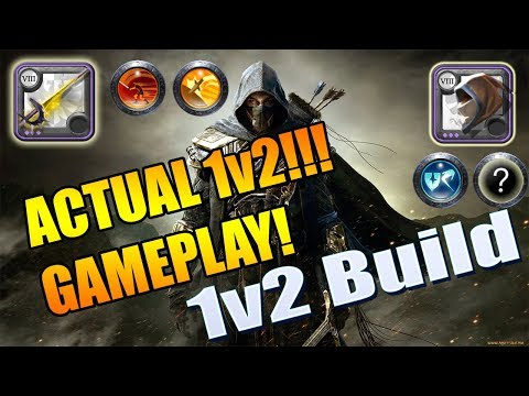 Albion Online 1v2 Build w/ GAMEPLAY! Most Outplay Potential - 1v2 PVP Build  in Albion Online 2019!