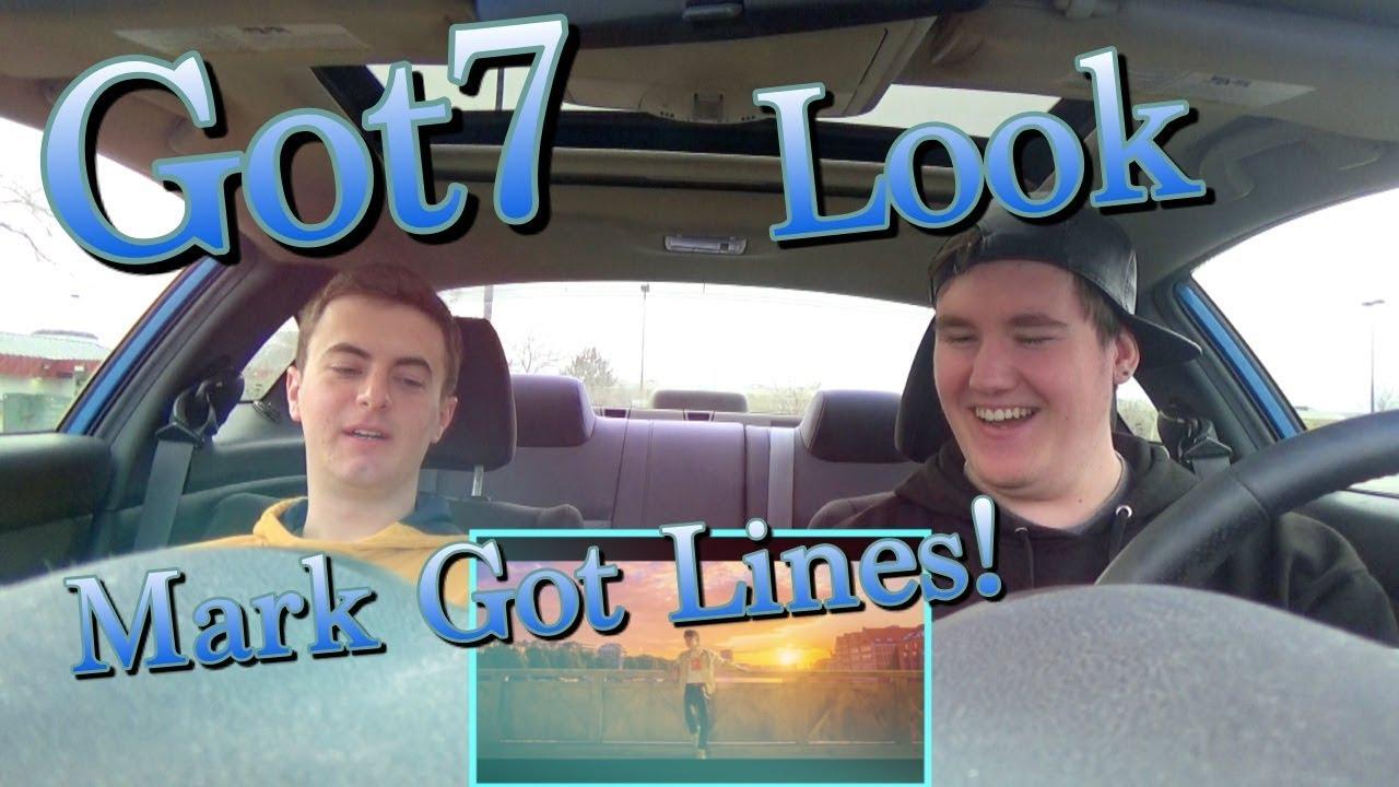 GOT7 - Look MV Reaction [MARK GOT LINES]