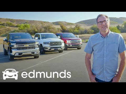 Ford F-150, Ram 1500 and Chevy Silverado: Battle for Pickup Truck Supremacy | Edmunds Video
