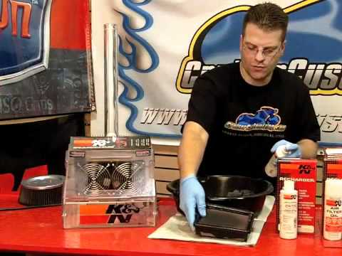 K&N Motorcycle Air Filter Cleaning - Step by Step - Video Guide: Tip of the Week