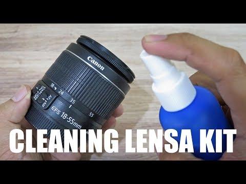 TIPS & CARA MEMBERSIHKAN / CLEANING LENSA KAMERA DSLR DARI KOTORAN ...
