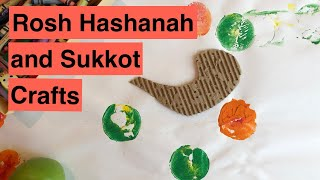 18 KIDS CRAFT ACTIVITIES FOR ROSH HASHANAH AND SUKKOT (High Holidays 2019 Series)