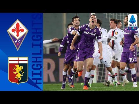 Fiorentina 1-1 Genoa | Milenkovic all'ultimo secondo risponde a Pjaca | Serie A TIM