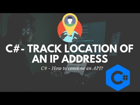 C# - How to Fetch Location of IP Address?