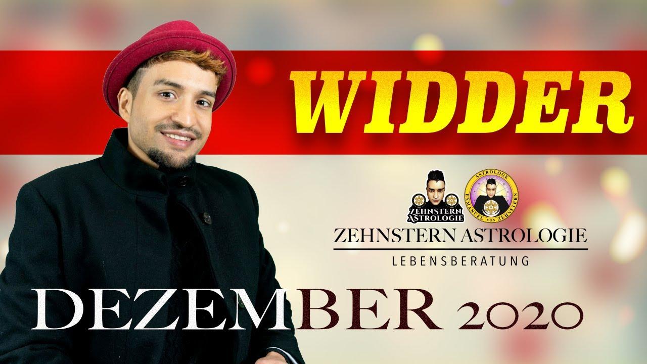 WIDDER MONATSHOROSKOP DEZEMBER 2020 | #ZehnsternAstrologie.com