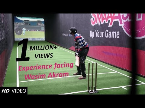 Smaaash-Bangalore Wasim Akram swing, Shane Warne spin and Kieron Pollard's medium pace