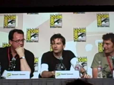 David Tennant's Top Gear experience - Comic-Con 2009